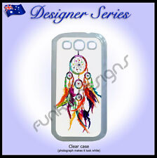 For Samsung Galaxy S3 case hard cover Art Collection Colourful Dreamcatcher