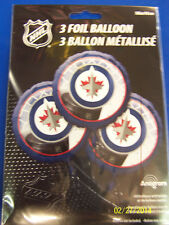Winnipeg Jets NHL Pro Hockey Sports Banquet Party Decoration Mylar Balloons