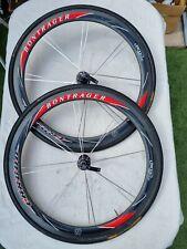 Bontrager Carbon Wheelset 650c Tubular 10S Shimano Freehub Good Condition !!!