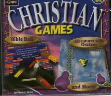 CHRISTIAN GAMES | For Children | New | Win 95 98 XP | 7 8 10 see listing