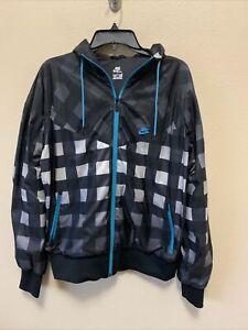 Nike Sportswear Windrunner Jacket  NikeLab Tech Checkered ACG 376827-010 Large