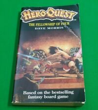The Fellowship of Four ***RARE!!*** HeroQuest 1 Dave Morris Fighting Fantasy #1
