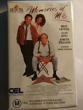 VINTAGE RETRO MOVIE FILM VHS VIDEO TAPE WITH PLASTIC CASE-Memories of Me