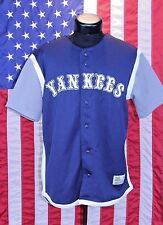 New York Yankees True Fan TF NY Med Jersey MLB Baseball Shirt All Star 38-40 EUC