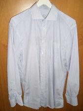 Van Laack Business - Herrenhemd blau-weiß - Gr. 40 [Langarm]
