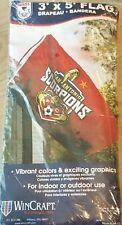New listing San Antonio Scorpions Fc; 2014 Nasl Champions 3' x 5' Flag; New, Unopened!