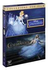 CENERENTOLA + CENERENTOLA (2 DVD) CARTONE ANIMATO + FILM  WALT DISNEY 2015