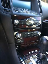 Stainless Steel Radio & A/C Knobs Infiniti G37 G35 FX37 QX70 EX37 And more