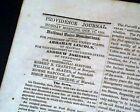ABRAHAM LINCOLN For President Notice & Petersburg Siege 1864 Civil War Newspaper