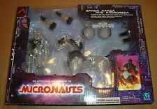 I MICRONAUTI RETRO SERIES 00001 BARON KARZA/ANDROMEDA CLEAR PALISADES MICRONAUTS