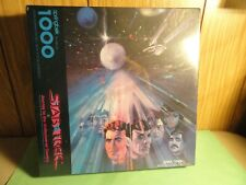"1993 Springbok "" Star Trek Journey To The Undiscovered Country "" Puzzle 1000 PCS"