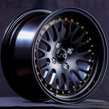 One 15x9 JNC JNC001 CCW Style 001 4x100/4x114.3 10 Matte Black. Wheel Rim