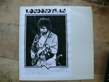 Bob Dylan -  LondonDylan LP Bootleg NM London 18 Juno 1978