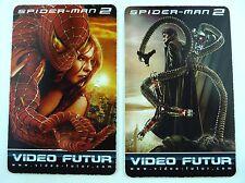 ANCIENNE CARTE VIDEO FUTUR / DEUX CARTES SPIDER-MAN 2