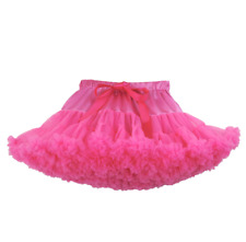 PINK KIDS CHILDRENS TUTU LUXURY DELUXE 7-9 YEARS DANCE BALLET FANCY DRESS UK