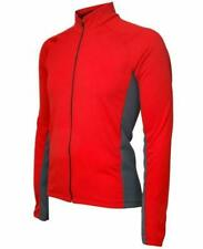 Women's Red Whistler Long Sleeve Cycling Jersey