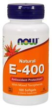 Vitamin E-400 With Mixed Tocopherols Now Foods 100 Softgel