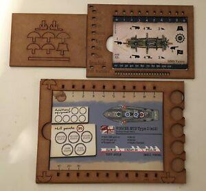 Black Seas and Cruel Seas  card holders set of 8