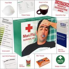 Man Flu gift Parcel - Survival Kit - for him - Get Well Soon Gift For Men