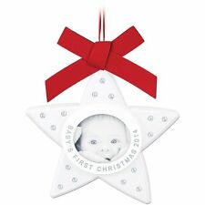 Swarovski #5064274 Baby's First Christmas Ornament, Annual Edition 2014