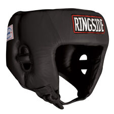 Ringside Competition Boxing Headgear Without Cheeks - Black
