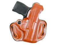 Desantis Gunhide 085TA7QZ0 Mini Slide Tan Leather OWB Ruger 57 RH Holster