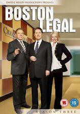 BOSTON LEGAL SEASON 3 - DVD - REGION 2 UK