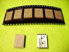 30 x 7-segmento SMD LED verde super brillante, sólo 3,7mm perfil/, dígitos altura 14,22mm