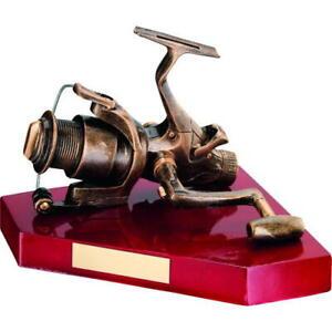 Angling - Brz Gold Fishing Reel Resin Award