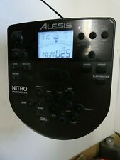 Alesis Electronic Drum Nitro Model Dm7X Module With Harness