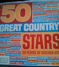 50 Great Country Stars- 30 Years of Golden Hits RCA 1968 - 4 LP Box Set