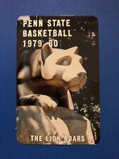 Penn State Basketball Pocket Schedule 1979/80