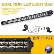 30inch  Cree Single Row LED Work Light Bar Spot Combo Driving Offroad ATV 4WD