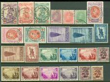 EDW1949SELL : BELGIUM Mint & Used collection of Complete sets.  Scott Cat $492.