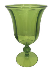 Plastic Wine Glasses Green Clear Acrylic Wine Glasses Water Goblets 15 oz Pk 4