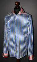 Eton mens shirt Size 41 16 Slim Fit