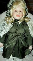 "Porcelain Lenox Ellis Island Doll EVA Collection 16"" BEAUTIFUL ! Vintage"