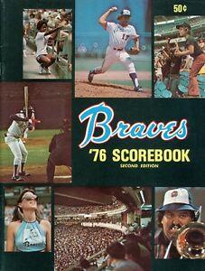 1976 Atlanta Braves Program/Scorebook 2nd Edition