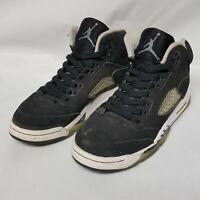 2013 Nike Air Jordan 5 Retro 440888-035 GS Oreo Size 4Y Black White