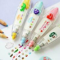 9 Color Cute Cartoon Correction Tape Study Stationery School Supplies Offic Q1R5