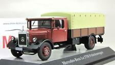 Scale model truck 1:43 Mercedes-Benz LO2750 Pritschenwagen