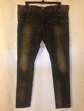 PRPS Men's Black Denim Jeans Size 38 Buttonfly