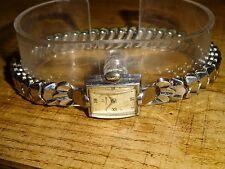 Omega Swiss Made 15 Jewels Womens Vintage Wind-up Watch Acierstaybrite 3772 265