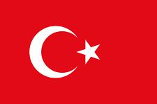 4x AUTO ADESIVO BANDIERA TURCHIA 8 cm Bandiera Vinile Sticker flag decal Turkey