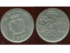 MALTE 25 cents 1998  ( bis )