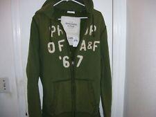 Men abercrombie muscle sweatshirt hoodie distressed size xxl or 2xl