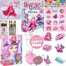 Niñas Superhéroe Fiesta Pre Lleno Bolsas Para Juguetes para Niños Cumpleaños Regalos Favores