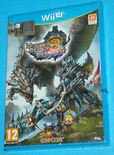 Monster Hunter 3 Ultimate - Nintendo WII U - PAL New Nuovo Sealed