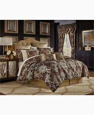 Croscill BRADNEY KING 4 PIECE Comforter SET Shams Bedskirt  Gold NEW