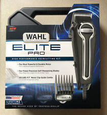 BRAND NEW Wahl Elite Pro Clippers Complete Hair Cutting Kit #79602
